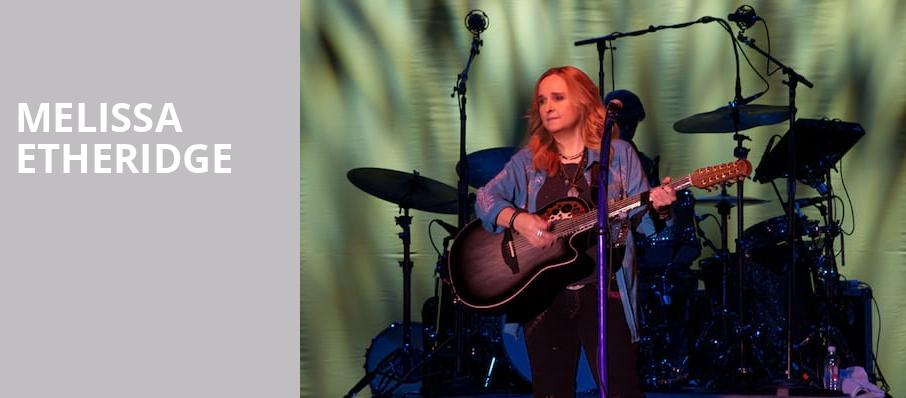 Melissa Etheridge, Garde Arts Center, New London